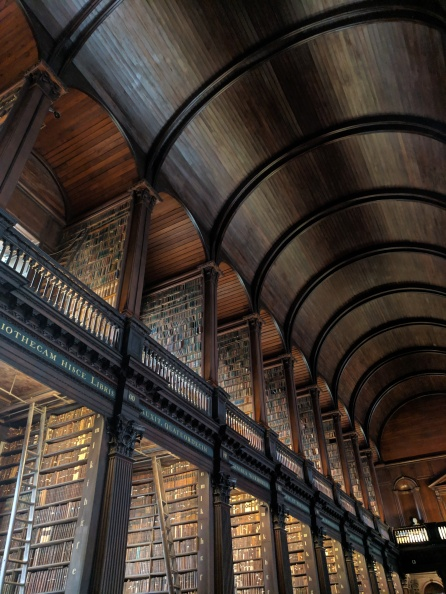 Long Room, Trinity College - 3 May 2019