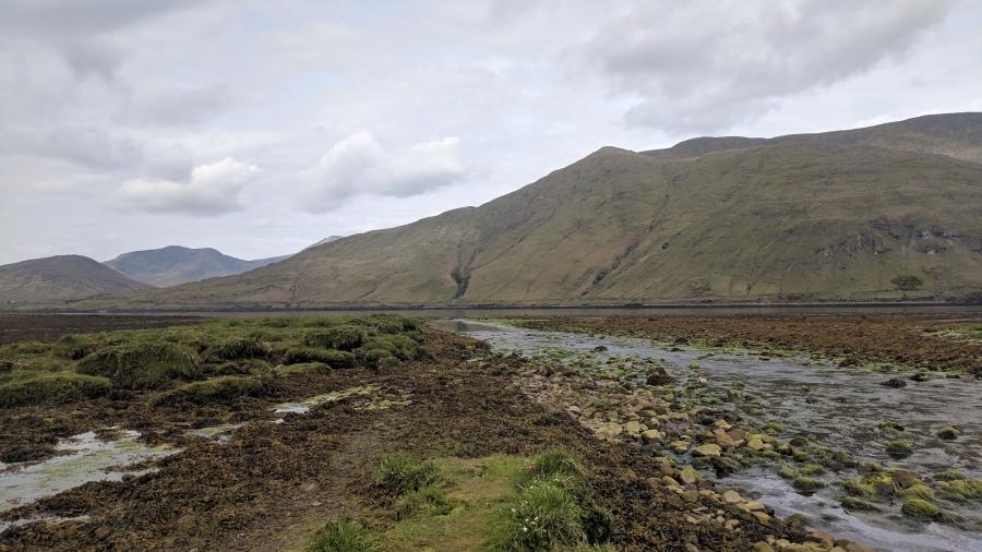 Fjord on the West Coast of Ireland